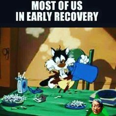 Some days we just need to take it one cup of coffee at a time! Recovery Humor, Addiction Recovery Quotes, Alcoholics Anonymous Quotes, Narcotics Anonymous, Sobriety Quotes, Sobriety Gifts, Aa Quotes, Life Quotes, Made Up Words