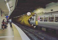 Talented Artist Graffiti's over Ordinary Photos Bringing Them to Life - BlazePress