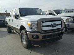 Salvage 2016 Ford F250
