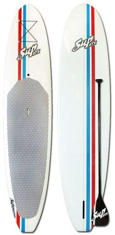 SUP ATX LR6 - RWB - Sale Price: $935 includes FREE Paddle & FREE Shipping.  Total Savings: $490!