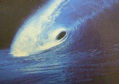Welle im Mondlicht