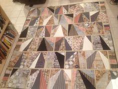 Eclectic Elements quilt - my version