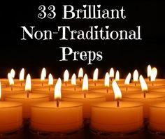 Some of the best preparedness solutions come from ordinary folks just doing their thing. These non-traditional preps come from Backdoor Survival readers.