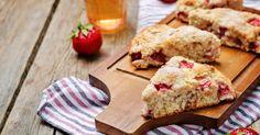 Strawberries 'n' Cream Scones