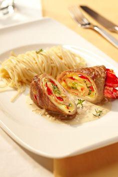 Rouladen sind nicht zwingend nur ein Wintergericht. Mit ein bisschen Gemüse und…