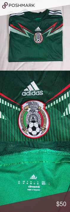 a4f44b02105 Adidas Mexico Soccer Jersey 2014 World Cup Brazil Adidas Mexico Good  condition adidas Shirts Tees -