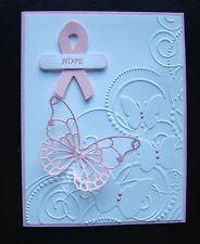 Stampin Up Breast Cancer Awareness Handmade Card - Celebrate Life!