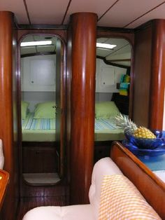 Lime green - my favorite! http://www.sailboat-interiors.com/ http://www.sailboat-interiors.com/store