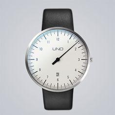• UNO+ one-hand watch online   Botta Design