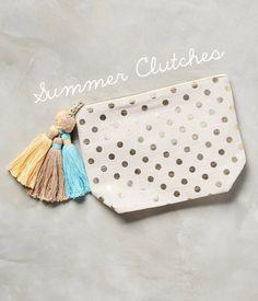 Wish List Wednesday: Summer Clutches