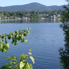 Saranac Lake. Not far from where I lived in Plattsburgh. It's a beautiful area.