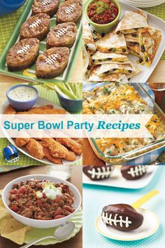 21 easy Super Bowl party recipes