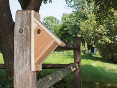 Make a chickadee nesting box - http://empressofdirt.net/diy-nesting-box-plans-2/