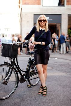 bike friendly outfit