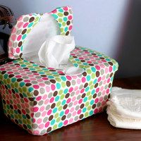 Baby wipes box cover :-)