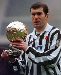 ZInedine Zidane. Golden Ball 1998