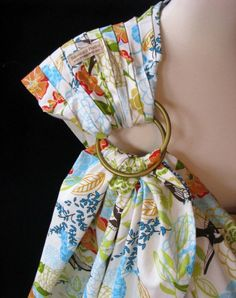 Baby Sling Ring Sling Baby Carrier  Botanical Garden by SnuggyBaby, $53.00 - pretty!
