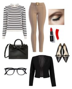 """Business lady"" by sandi-solorzano on Polyvore featuring Oasis, 3.1 Phillip Lim and WithChic"