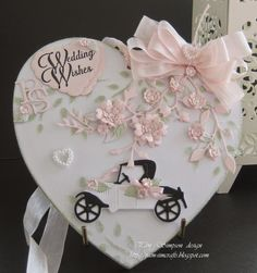 Hi everyone, sorry been gone a while, have been a bit busy. This MDF wedding plaque, is for my Granddaughters work college, she asked . Wooden Hearts Crafts, Heart Crafts, Wedding Shower Cards, Card Box Wedding, Craft Wedding, Wedding Gifts, Wedding Wishes, Wedding Plaques, Wedding Anniversary Cards