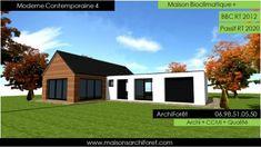 Moderne Contemporaine 2 Constructeur de Maison Moderne plan en U ...