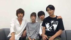 """[message, 08/25/16] https://twitter.com/Getsu9_Suki/status/768974260521963520 """"plz watch ep.7"""" Shohei Miura x Shuhei Nomura x Mirei Kiritani x Kento Yamazaki, J drama """"Sukina hito ga iru koto (A girl & 3 sweethearts)"""", Aug/25/16"""