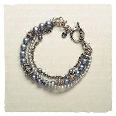 Gray Swan Bracelet...pretty