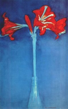 Piet Mondrian  Amaryllis, 1910