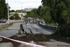 Fitzgerald Avenue damage