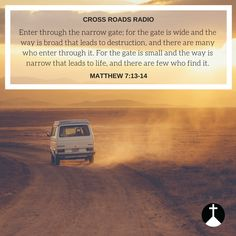 Bible Quotes!   Listen LIVE to Cross Roads Radio today!