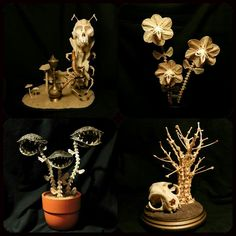 Bone sculptures