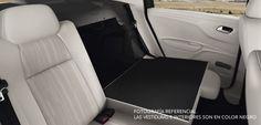 Los asientos traseros son abatibles, para tener un acceso más rápido a la cajuela o permitirte tener más espacio