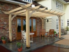 japanese Wood Arbor Plans | Arbors & Pergolas - Decking London Deck Design & Build Greater London