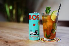 At BOS we believe that healthy should be fun. That's why we make refreshing ice tea with organic rooibos and natural fruit flavours. Sports Drink, Iced Tea, Energy Drinks, Pint Glass, Lime, Fruit, Tableware, Stuff To Buy, Limes
