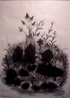 Morris Graves - J. Franklin Fine Art, Inc. Modern Artists, Science Art, Nature Inspired, Watercolor And Ink, American Artists, Cool Artwork, Asian Art, Flower Art, Still Life