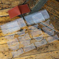 BUNDLE -- Modern Bi-Fold Wallet - Two Full Sets