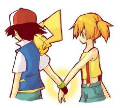 ash,pikachu,misty Pokemon Couples, Pokemon People, Pokemon Ships, Pokemon Fan, Pokemon Ash And Misty, List Of Characters, Original Pokemon, Real Friends, Cool Pictures