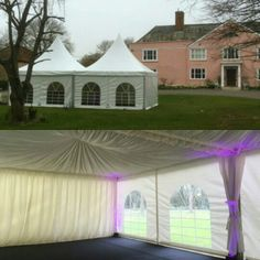 Our Chinese Hats are looking lovely at Garnish Hall in Margaret Roding - with a drizzly bank holiday weekend on the way these stylish marquees are an ideal way to create a bigger space! #events #wedding #hire #marquee