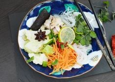 Supa vietnameza Pho reteta de supa de pui Pho, Supe, Tofu, Cabbage, Tacos, Mexican, Vegetables, Ethnic Recipes, Green