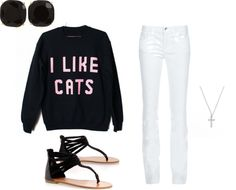 """""""Casual Winter Outfit"""" by juliaseery ❤ liked on Polyvore"""