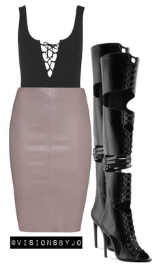 """""""Untitled #1096"""" by visionsbyjo on Polyvore featuring Topshop, Jitrois and Privileged"""