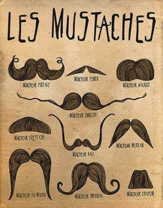 Les Mustaches VINTAGE STYLE METAL TIN SIGN POSTER BARBER SHOP in Home, Furniture & DIY, Home Decor, Plaques & Signs | eBay!