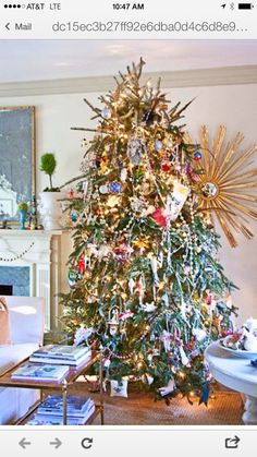 Heavily Decorated Tree