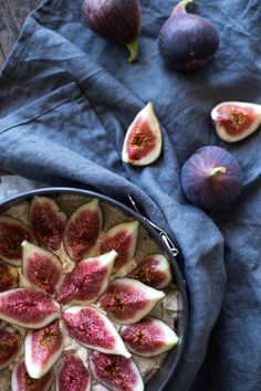fig almond cake-11