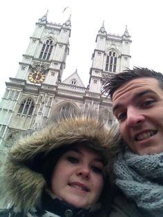 Devant l'abbaye de Westminster