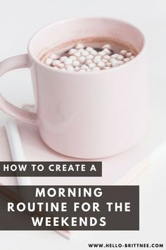 6 Ideas for Your Weekend Morning Routine Every good morning routine starts with getting up and taking on the day. How are you kicking off your mornings on the weekends? Sunday Routine, Healthy Morning Routine, Morning Habits, Night Routine, Morning Routines, Daily Routines, Miracle Morning, Morning Ritual, Good Morning