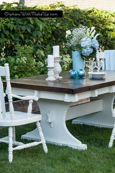 DINING ROOM SET RESCUE — Orphans With MakeUp