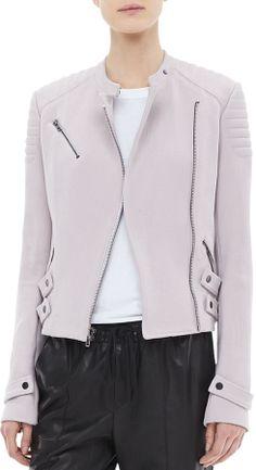 A.L.C. Malto Textured Cotton Jacket on shopstyle.com