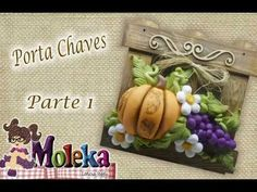 DIY- Porta chaves parte 1- Leticia Ieggli - Biscuit - YouTube