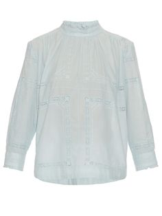 Broiderie anglaise cotton top | Sea | MATCHESFASHION.COM