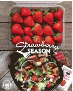 Wendy's became the first nationally-recognized brands to launch a Pinterest campaign featuring their newest feature, Cinematic Pins. Strawberry Fields Salad, Fruit Salad, Wendy's Social Media, Fast Food Restaurant, Pinterest Marketing, Campaign, Meals, Ethnic Recipes, Fruit Salads